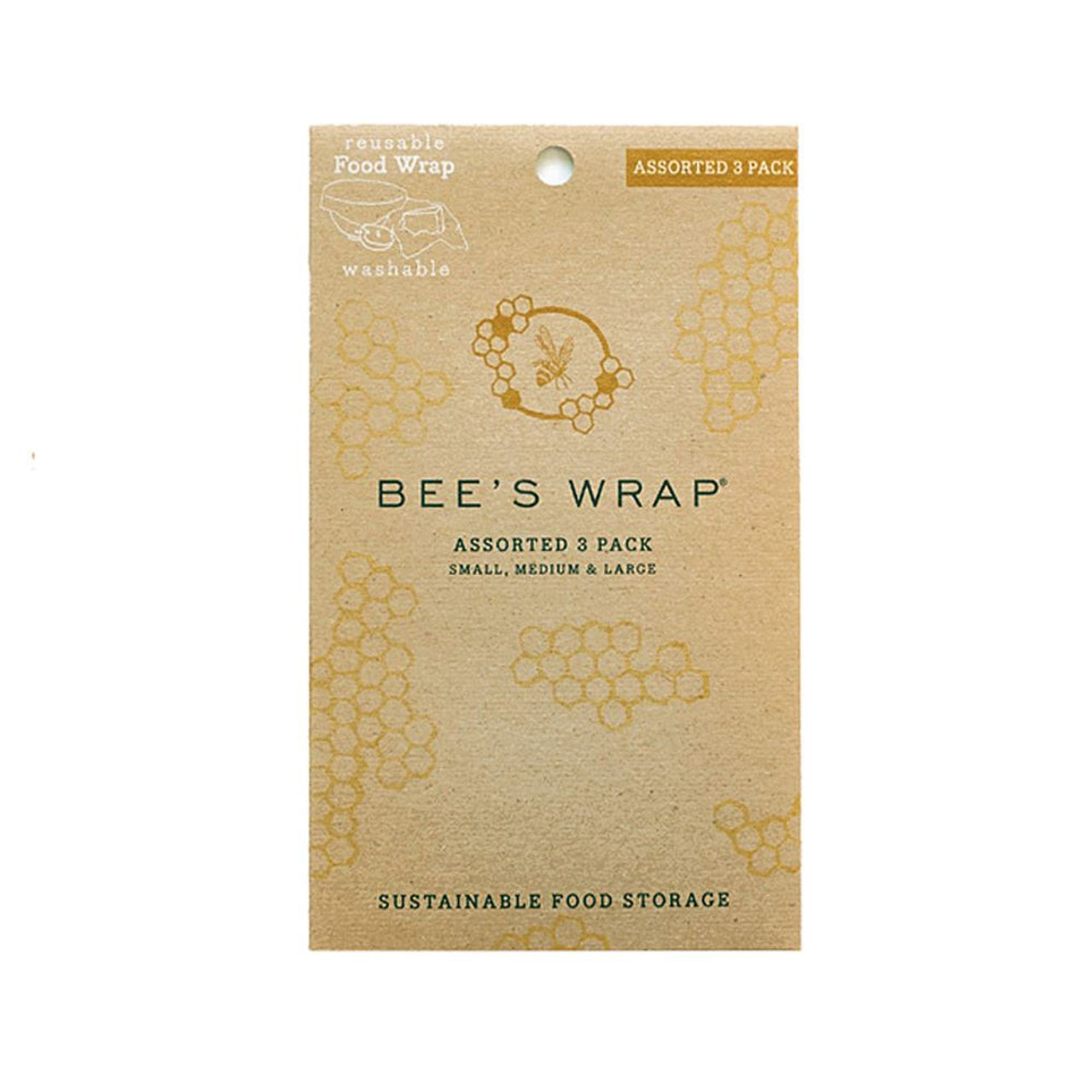 Bee's Wrap Set of 3 - Bees