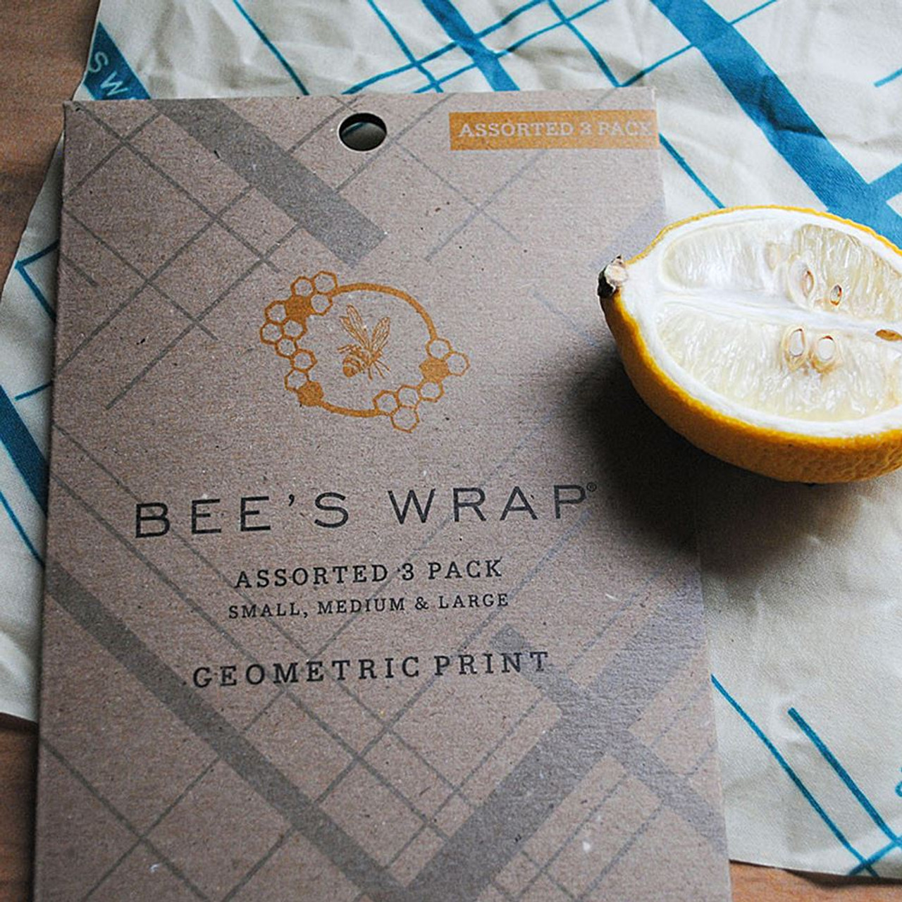 Bee's Wrap Set of 3 - Geometric