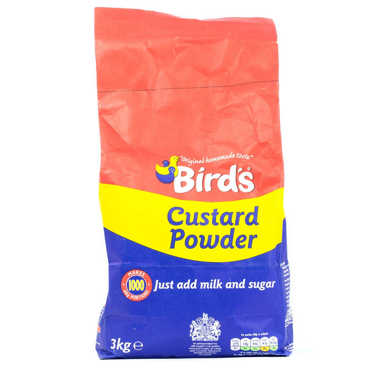 Bird's Custard Powder 3kg