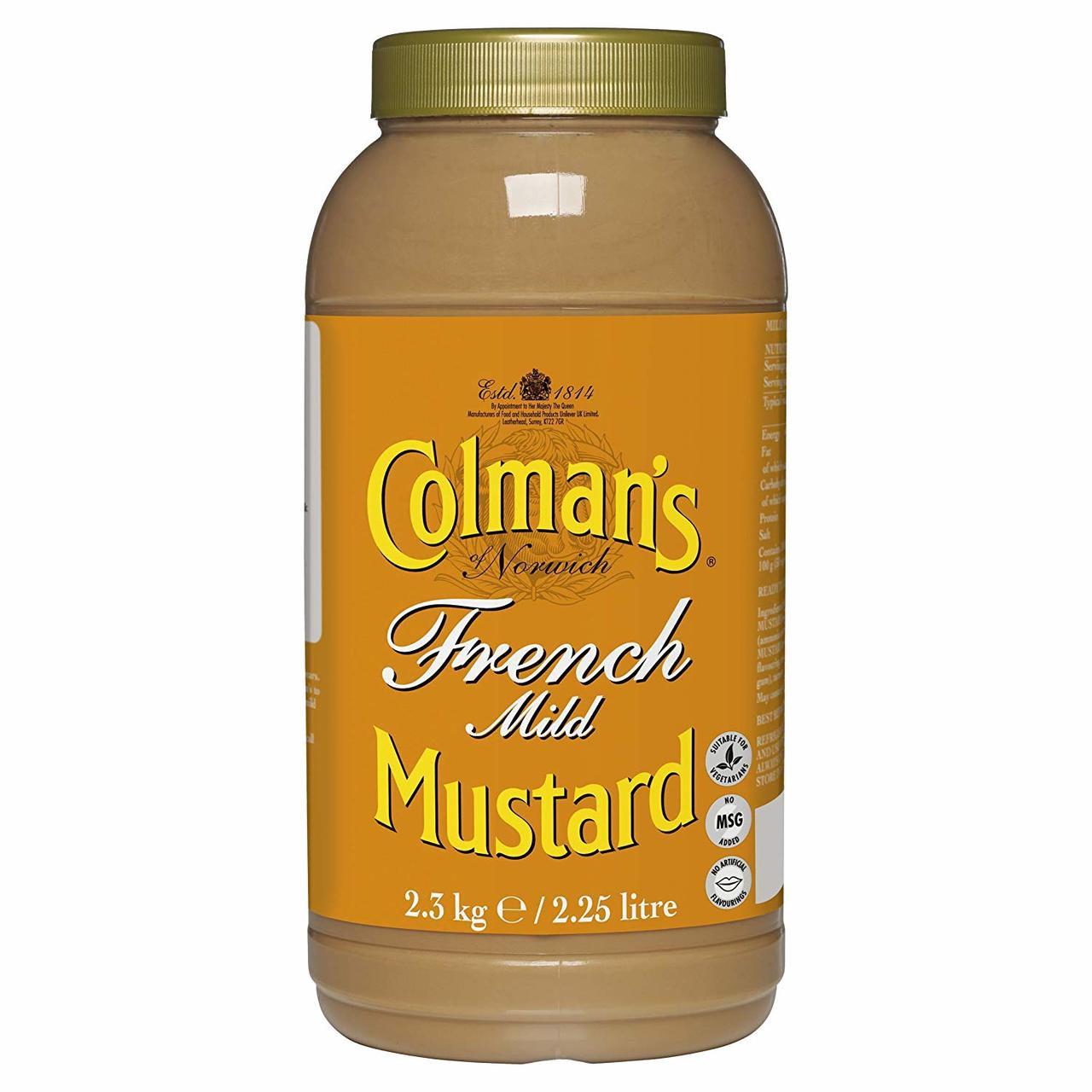 Colman's French Mustard - 2.25lt