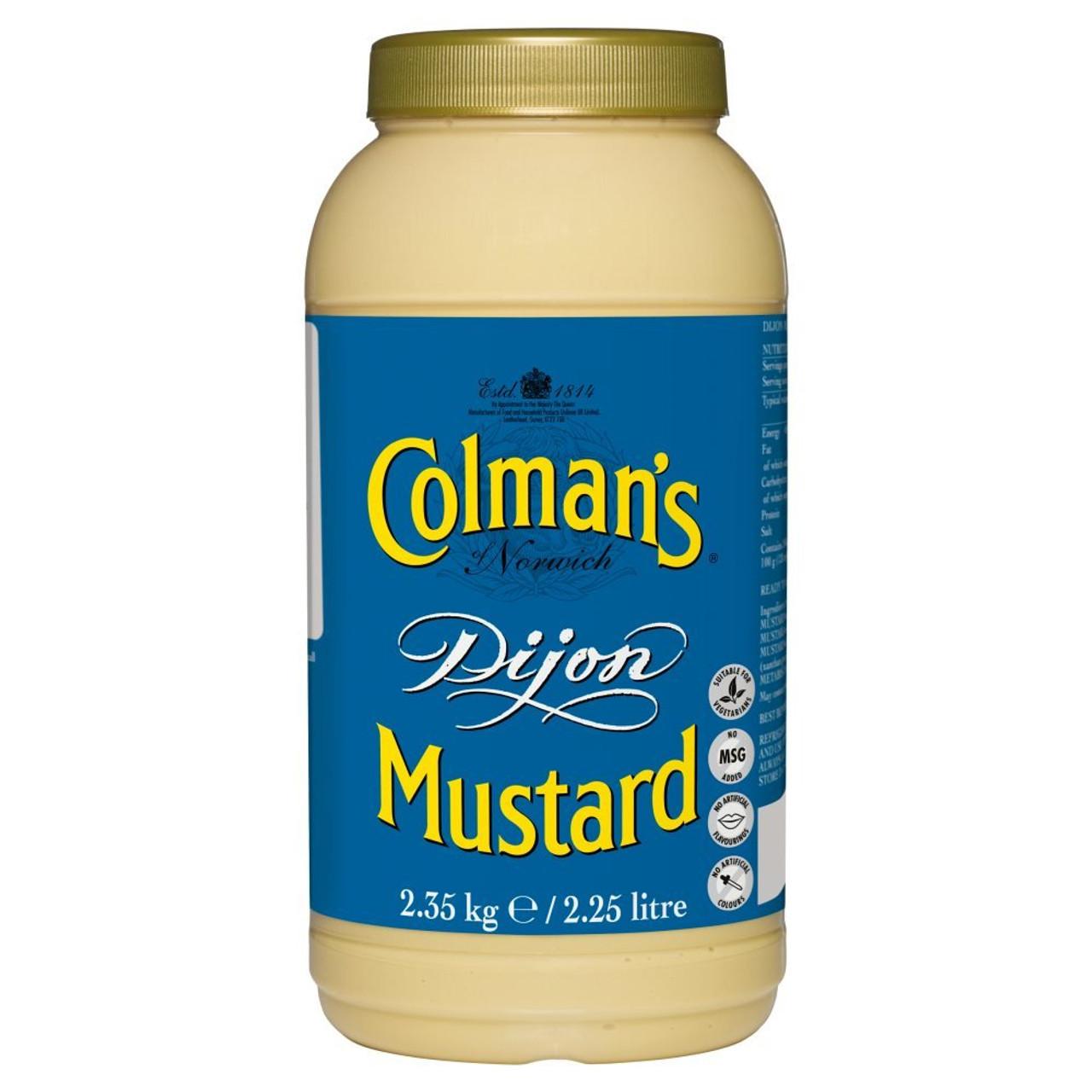 Colman's Dijon Mustard - 2.25lt