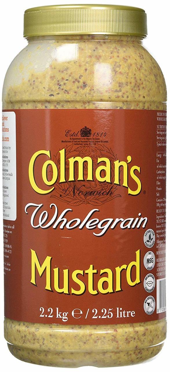 Colman's Wholegrain Mustard - 2.25lt