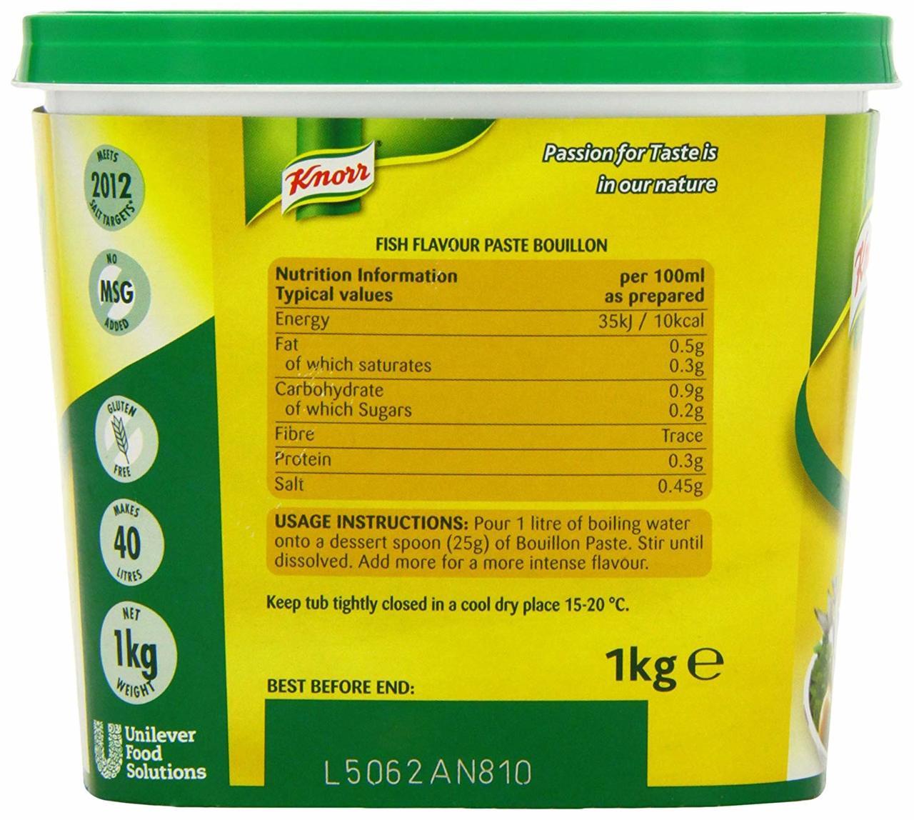 Knorr Clear Fish Bouillon 1kg