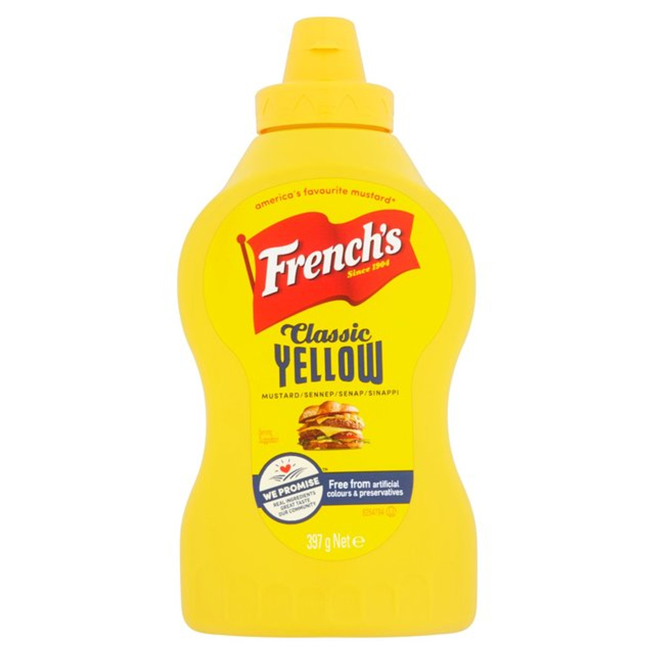 French's American Mustard Squeezy - 397g
