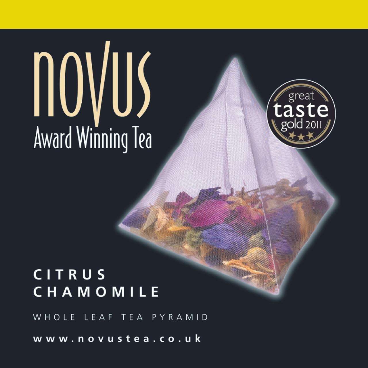 Novus Tea Citrus Chamomile Foil Sachet x 50