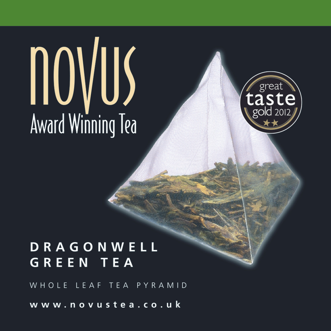 Novus Tea Dragonwell Green - Foil Sachet x 50