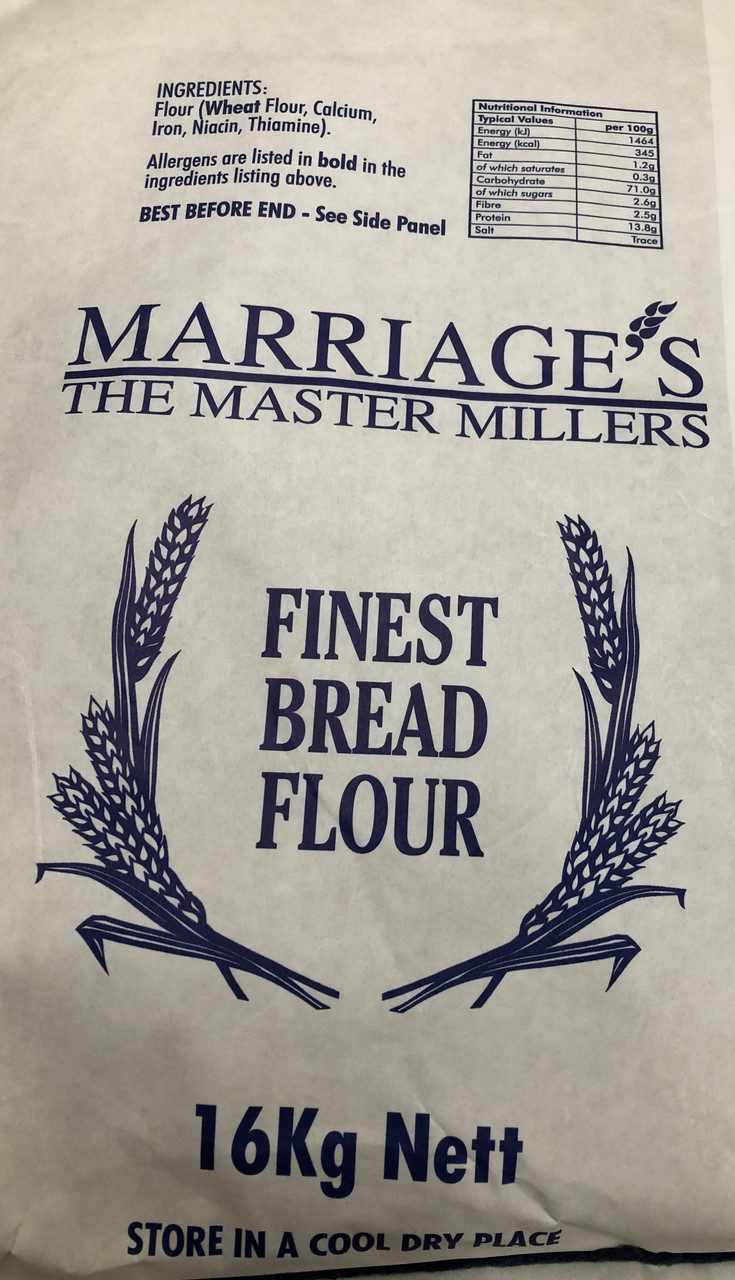 Marriages Breadwinner flour for baking