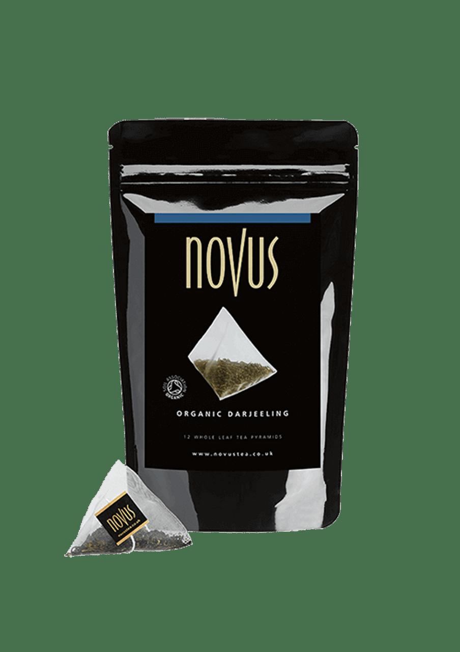 Novus Tea Darjeeling Organic Pyramid Bags x 25