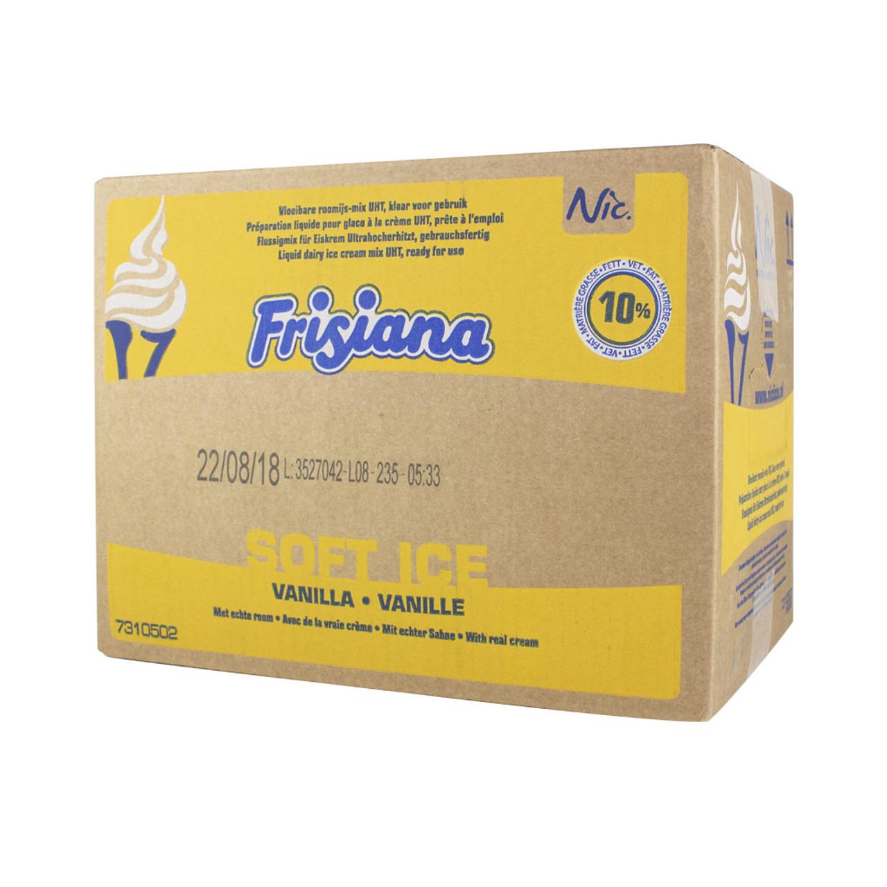 Frisiana 10% UHT Ice Cream Mix - 10lt