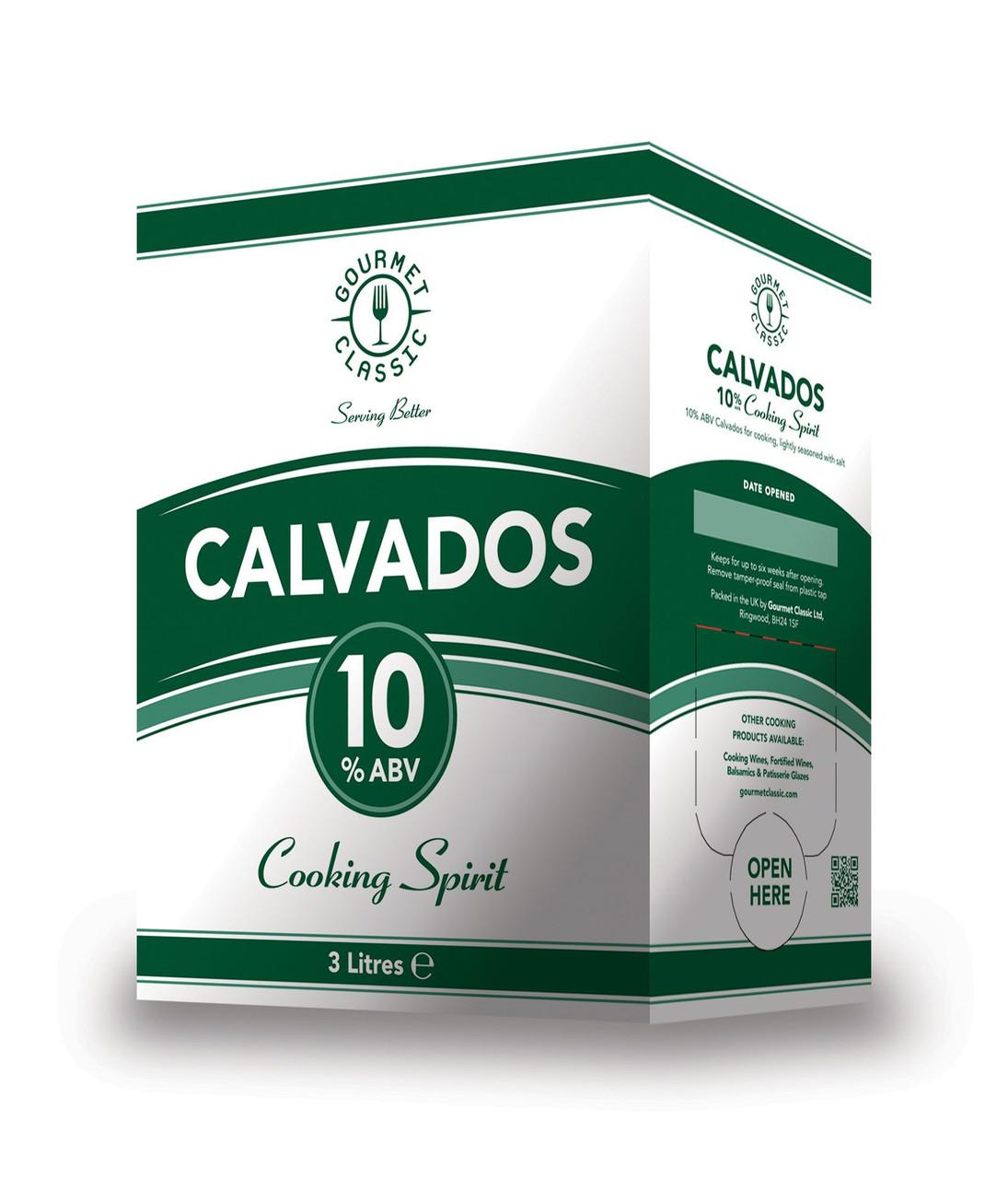 GOURMET CLASSIC COOKING CALVADOS 10% 3L