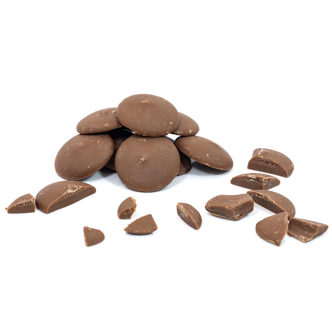 STEWART & ARNOLD MILK CHOCOLATE PISTOLES 35%