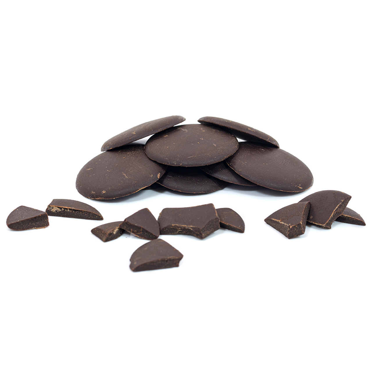 STEWART & ARNOLD DARK CHOCOLATE PISTOLES 70%