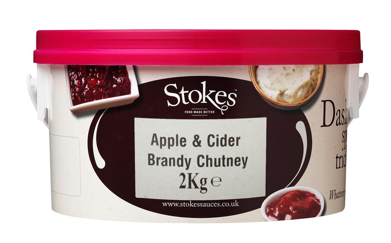 STOKES APPLE & CIDER BRANDY CHUTNEY 2kg