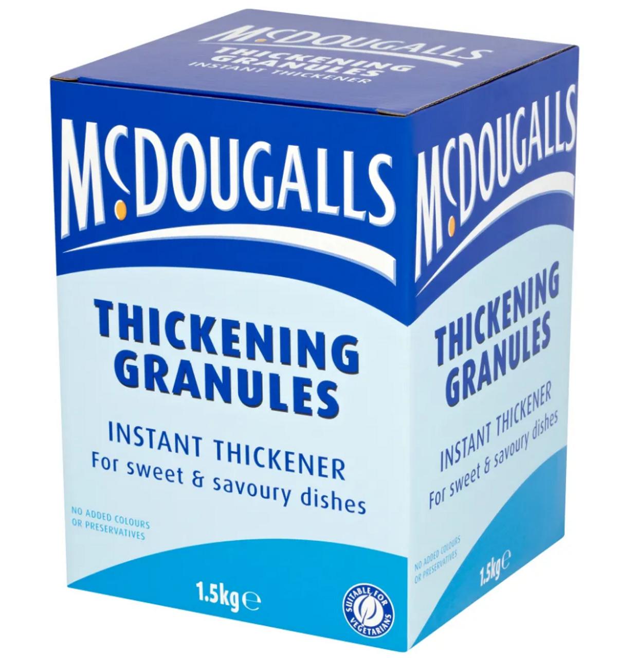 McDOUGALLS - THICKENING GRANULES - 1.5KG