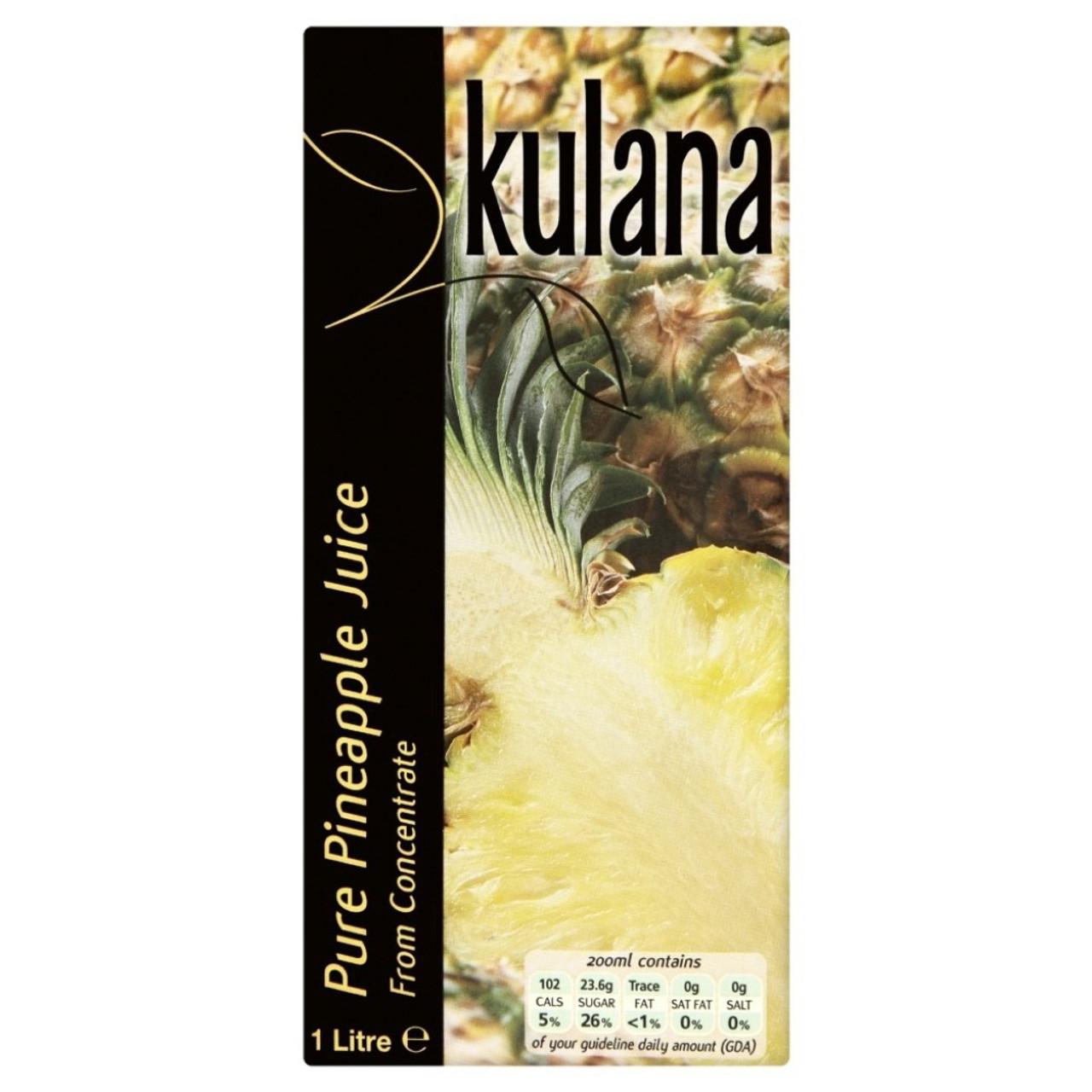 KULANA PINEAPPLE JUICE 1L