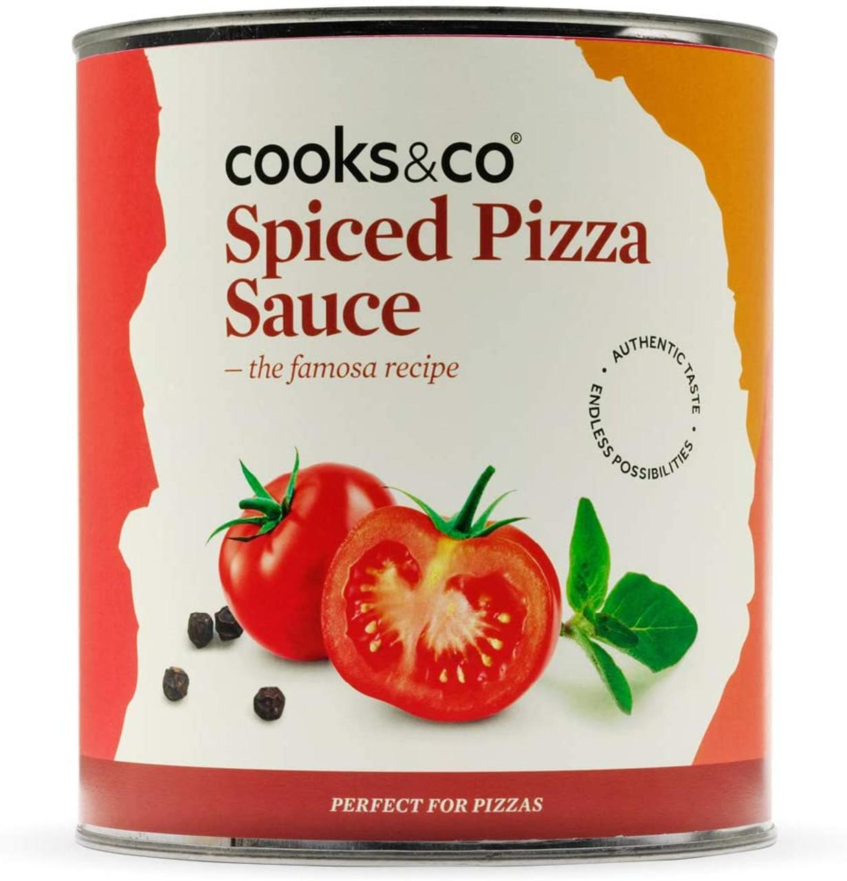 SPICED PIZZA SAUCE 2.95kg