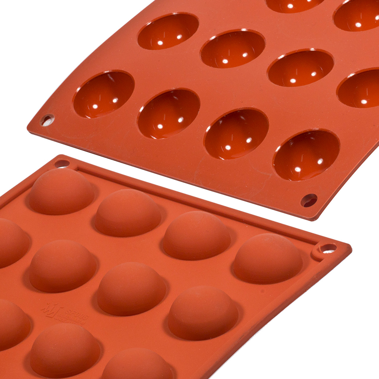 Silicon Mould - Hemisphere Mini x 24's