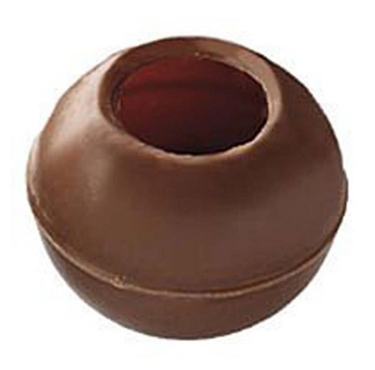 CALLEBAUT MILK CHOCOLATE TRUFFLE SHELLS x 504 pcs
