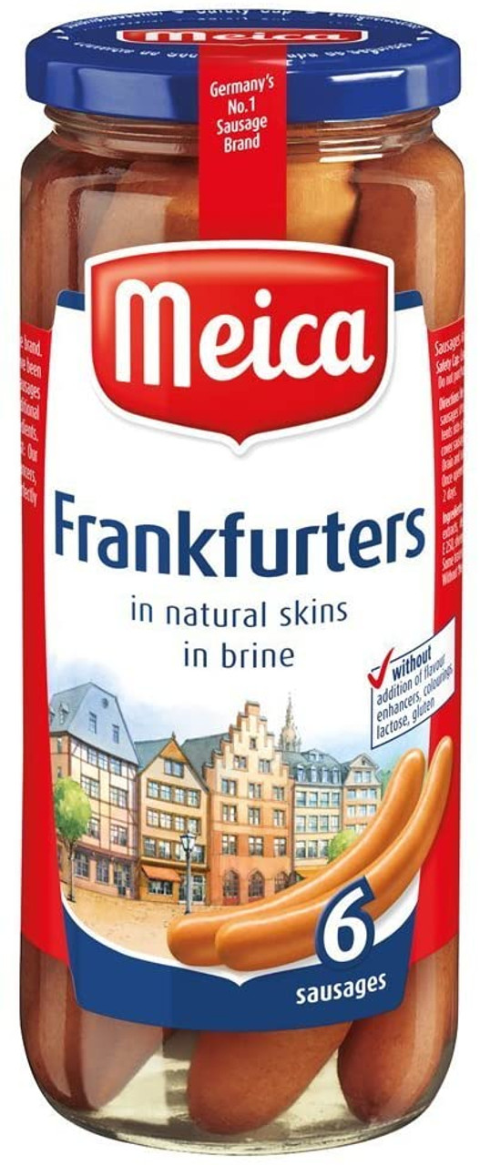 FRANKFURTERS (6) 375g