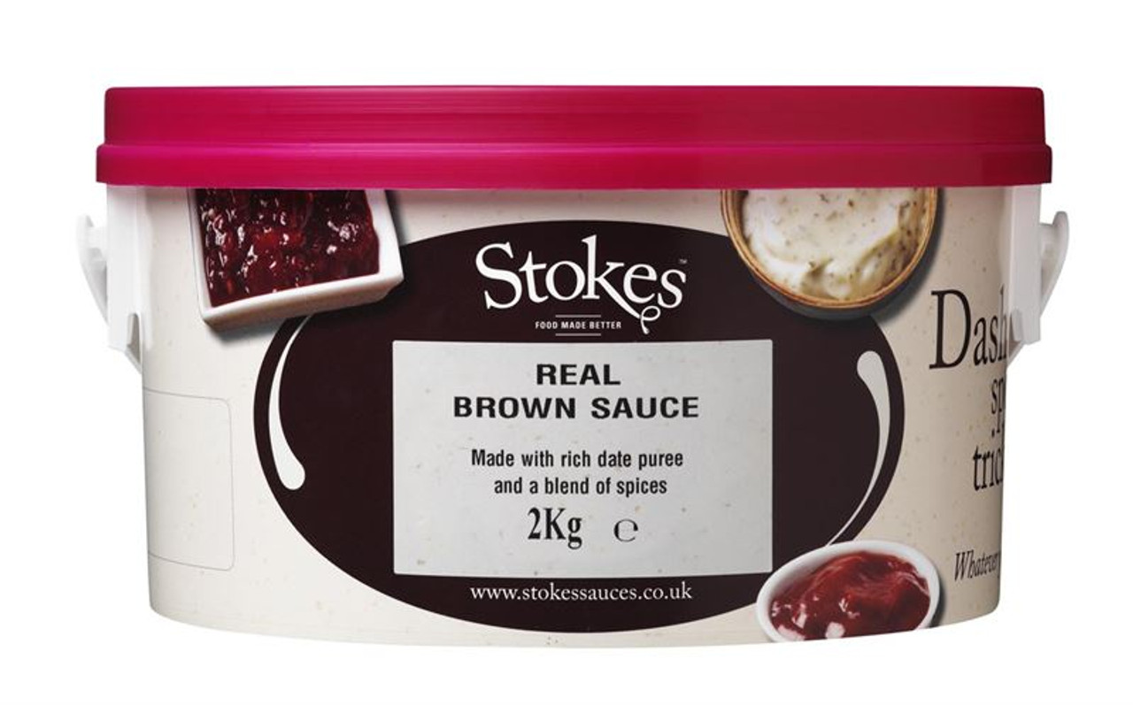 Stokes Brown Sauce 2kg