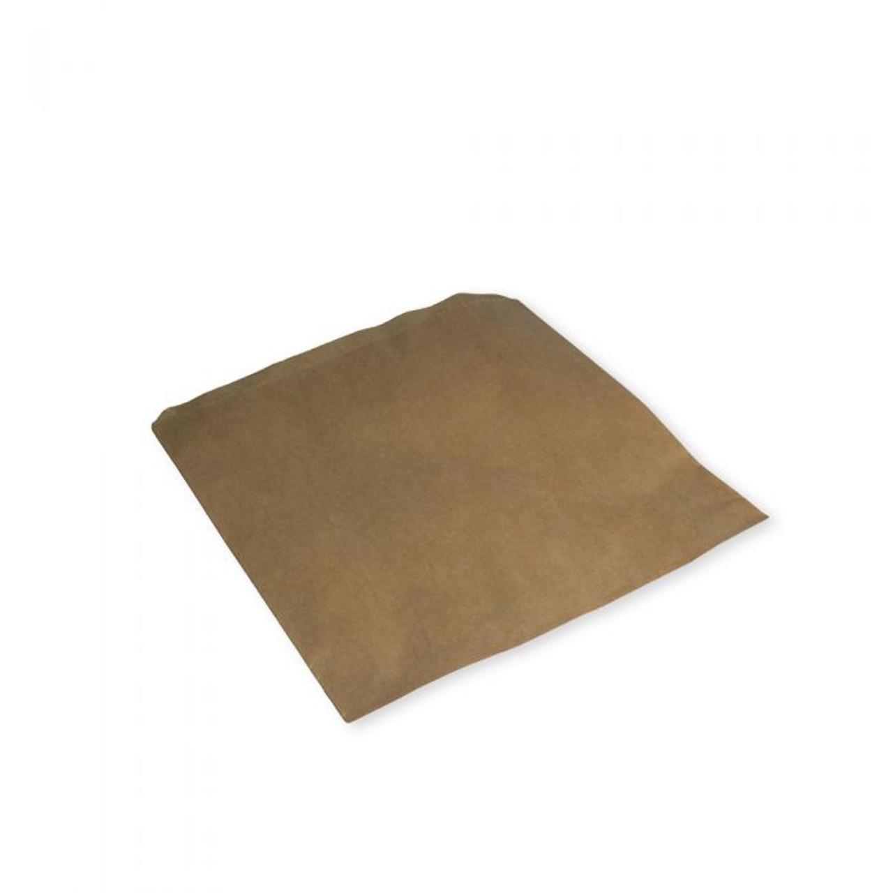 "7"" BROWN KRAFT STRUNG BAGS x 1000"
