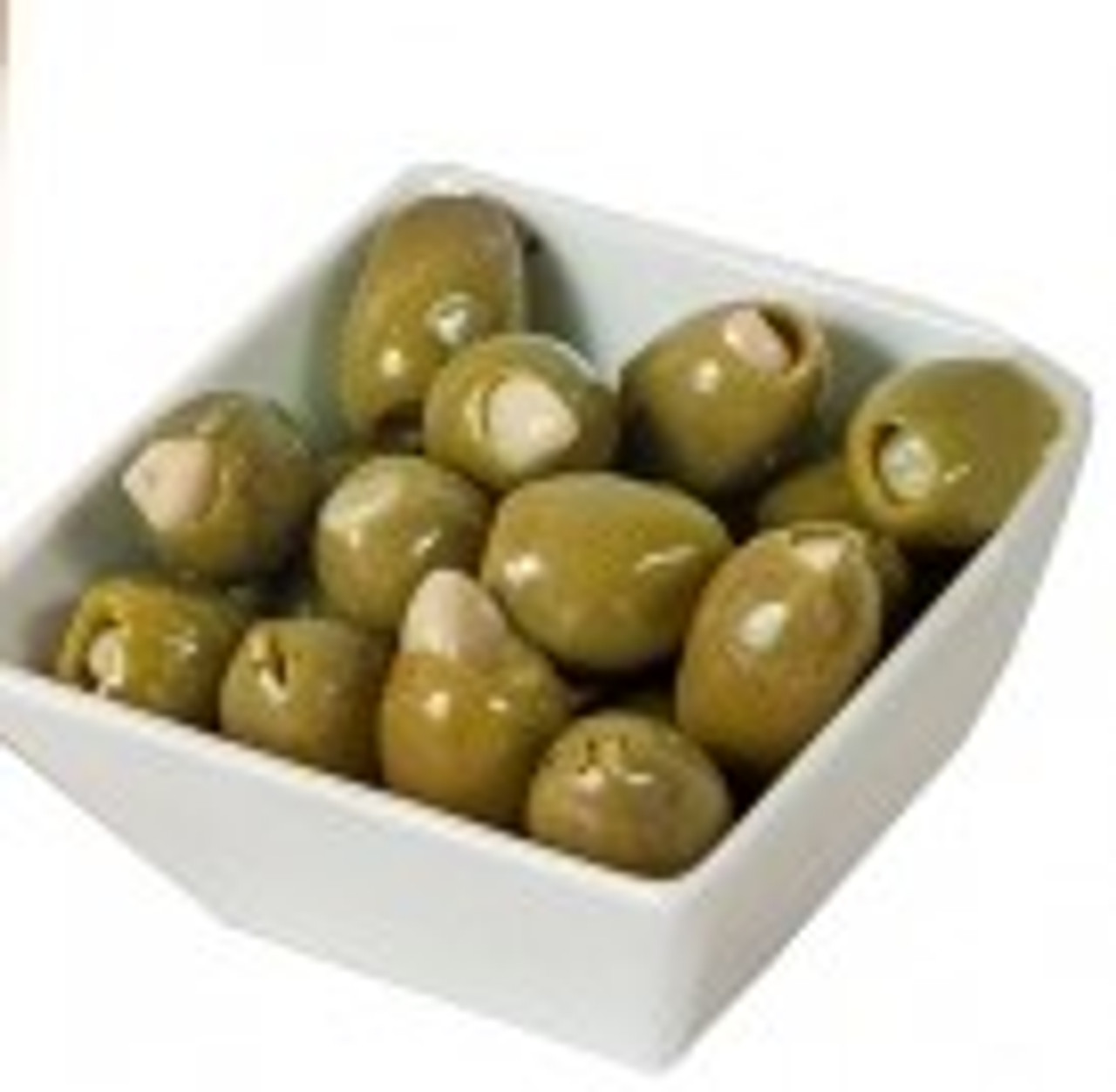 OLIVES GREEN STUFFED WITH GARLIC 2.5kg