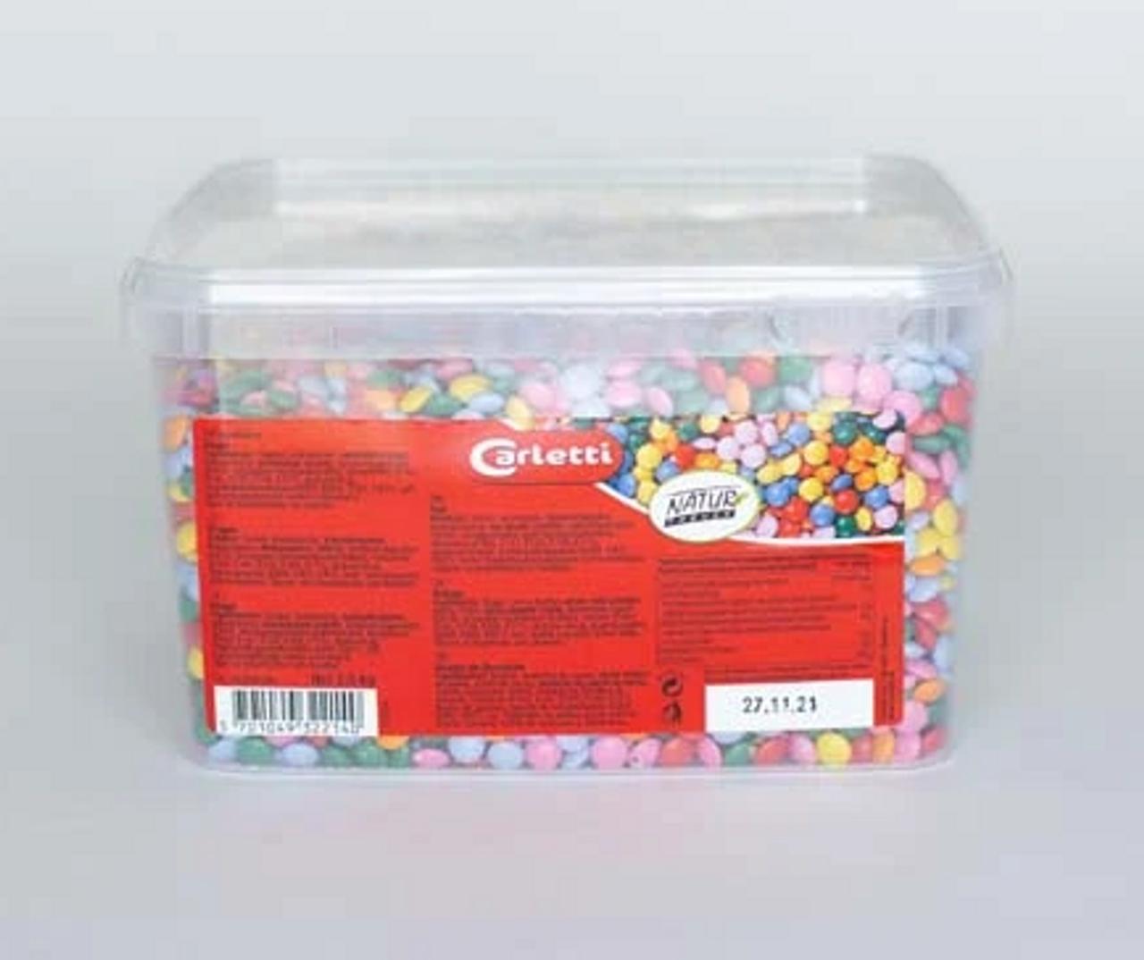 CHOCOLATE MINI BEANS MULTI COLOURED (SMARTIES) 2.9kg