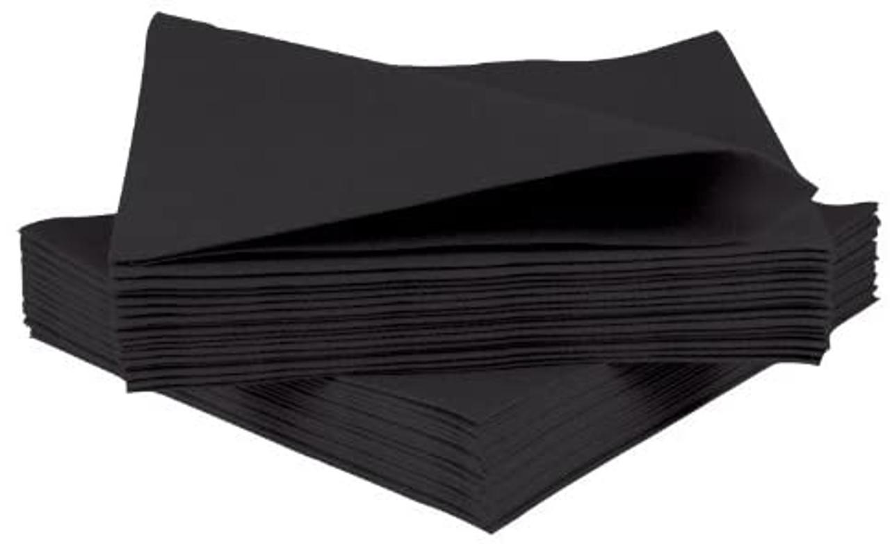 NAPKINS BLACK 40cm