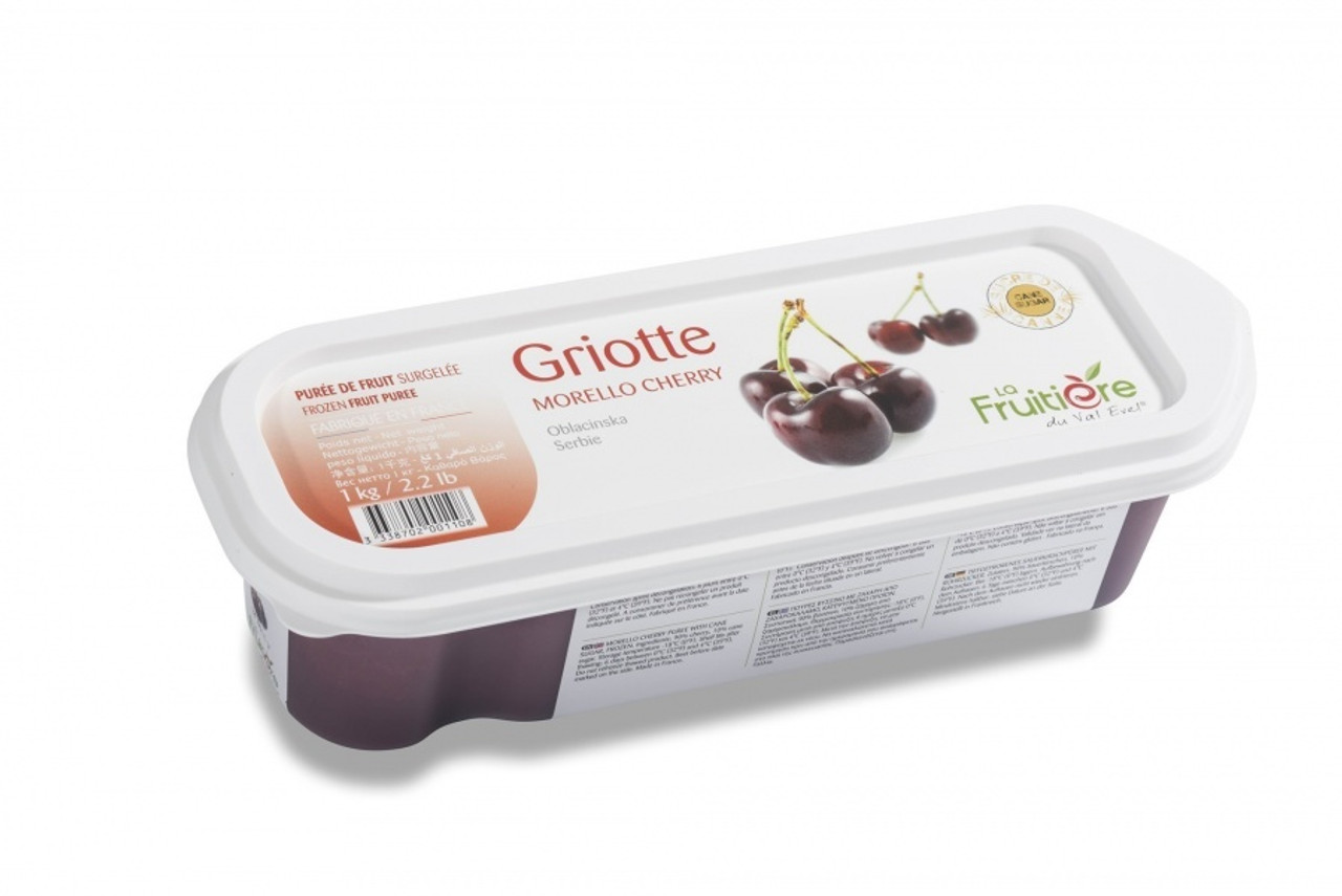 BOIRON RED CHERRY MORELLO PUREE FROZEN 1kg