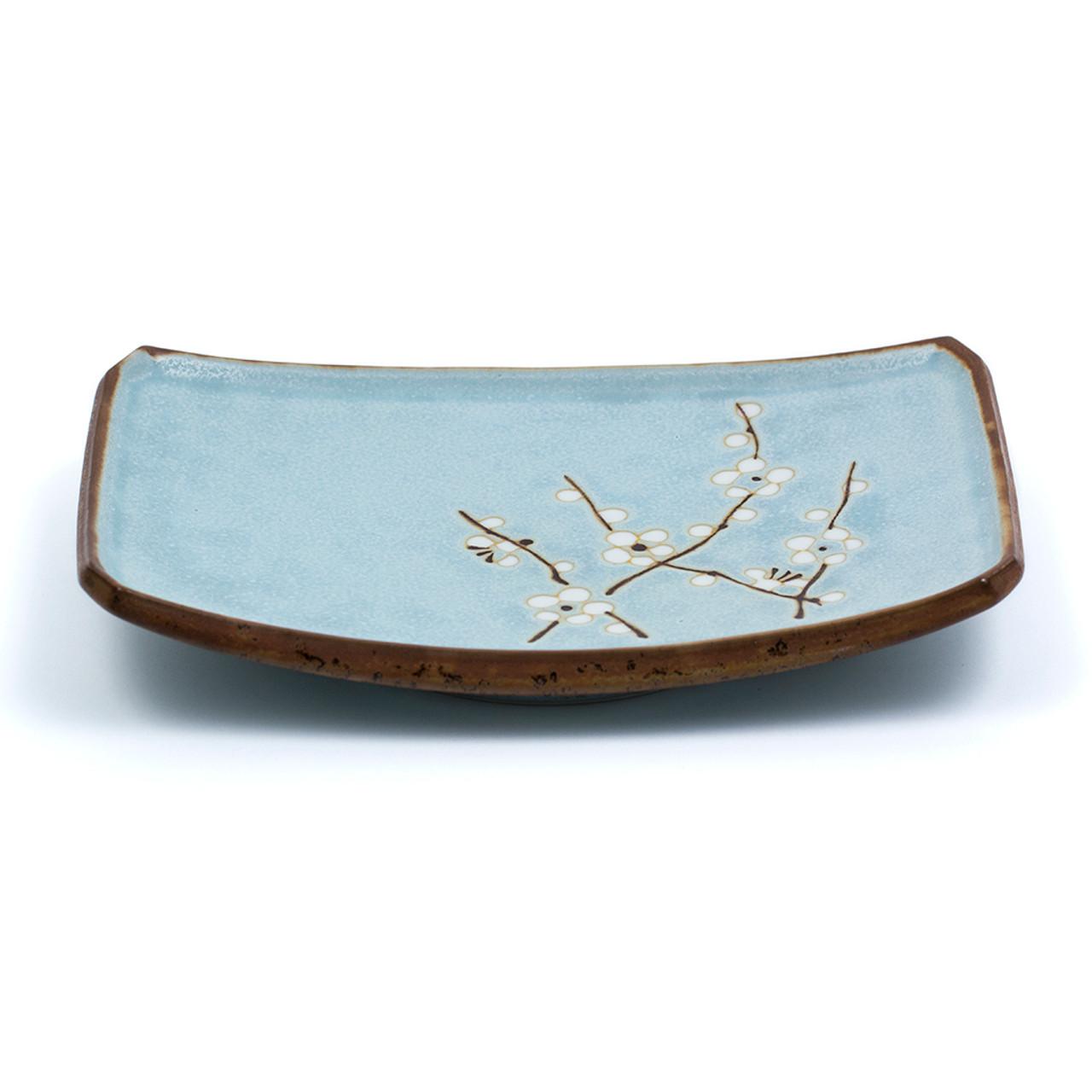 Plum Design Blue Plate