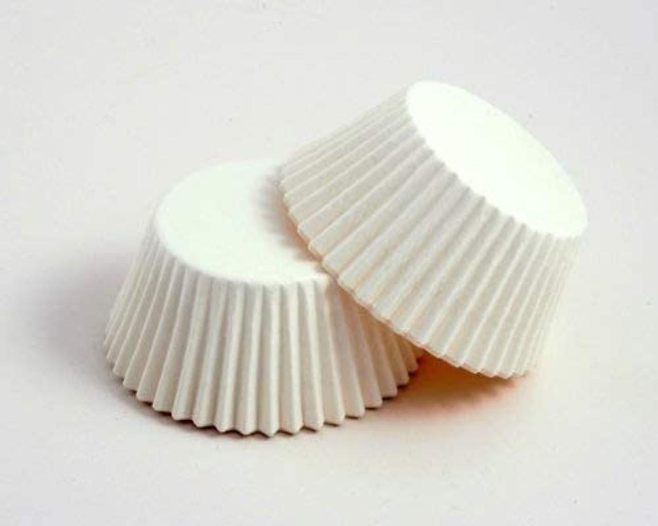 MUFFIN CASES WHITE x 250