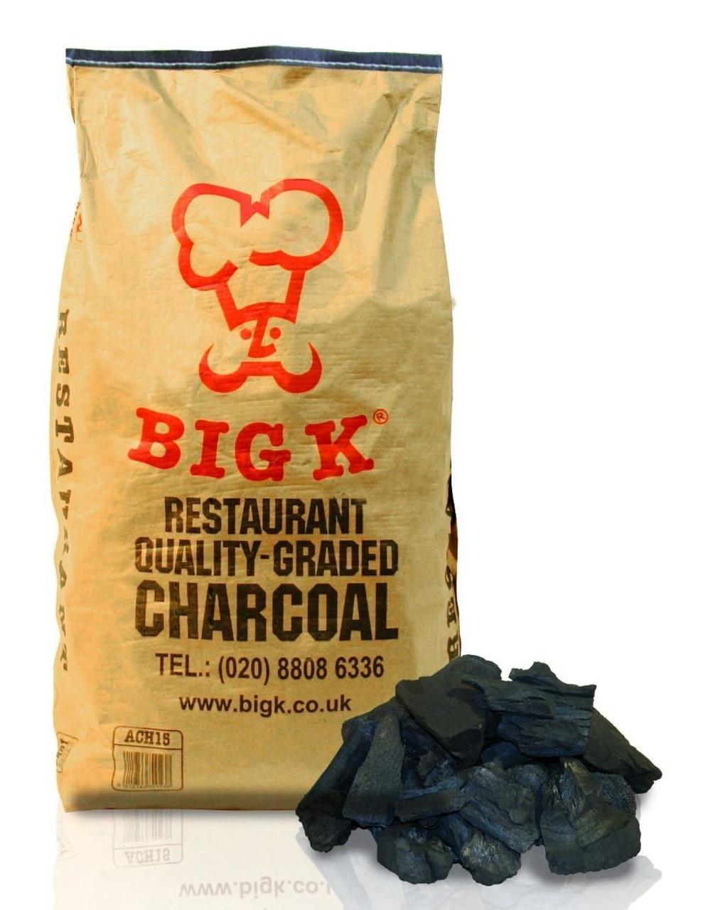 BIG K Restaurant Quality Charcoal 15KG (BAG)