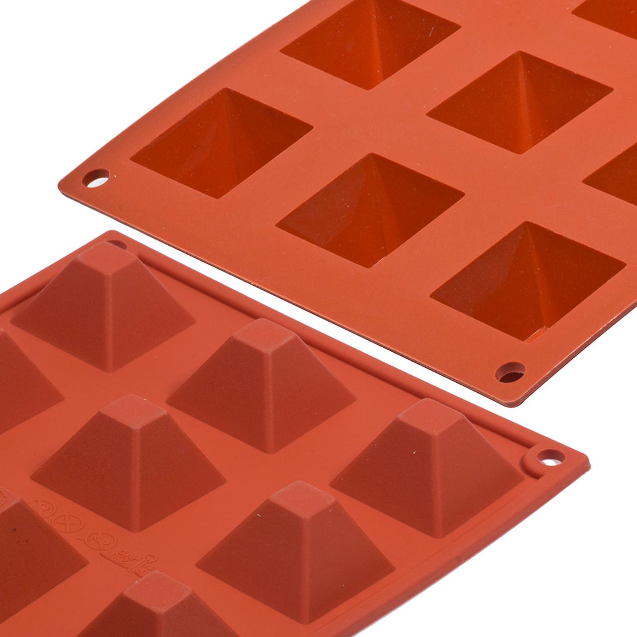 Silicon Mould - Pyramid x 15's