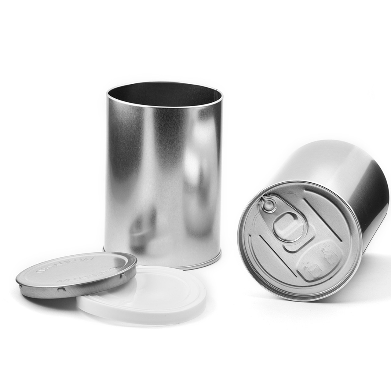 Baked Bean Tin With Ring Pull Lid