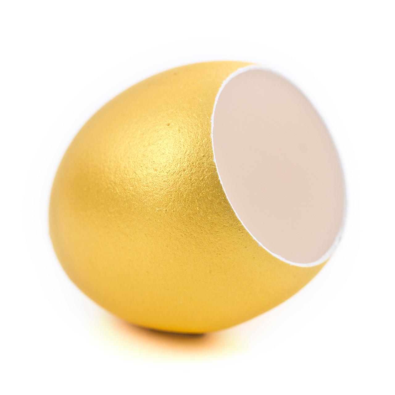 Egg Shell Gold x 6