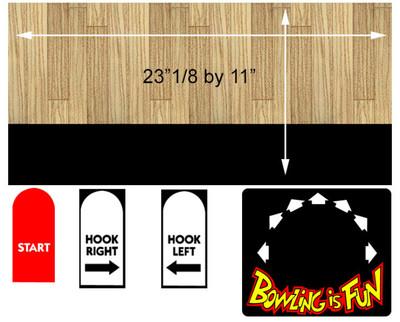 Capcom Bowling Control Panel Overlay