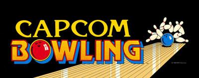 Capcom Bowling Video Arcade Marquee