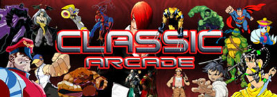 Classic Arcade custom Video Arcade Marquee
