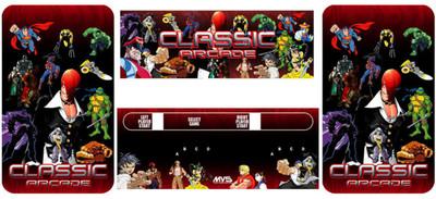 Classic Arcade Neo Geo conversion graphic kit