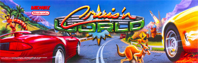 Cruis'n World Video Arcade Marquee