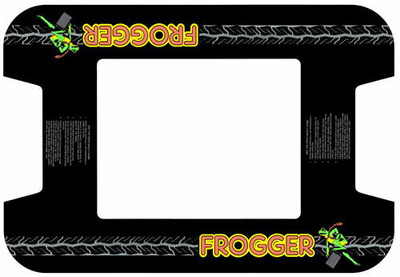 Frogger Midway Cocktail Bezel Underlay