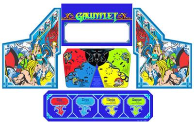 Gauntlet graphic restoration 5 piece kit