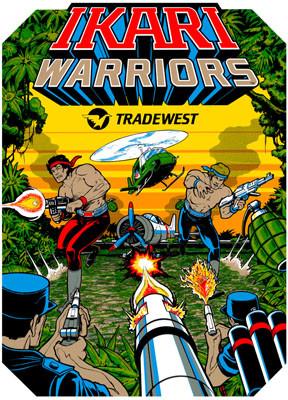 Ikari Warriors Video Arcade Side Art