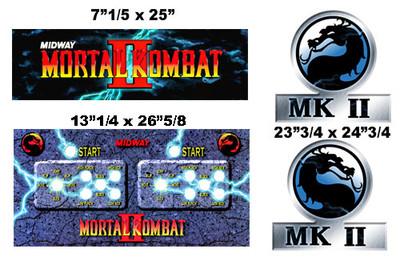 Mortal Kombat 2 graphic restore kit