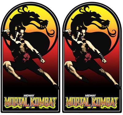 Mortal Kombat Video Arcade Side Art