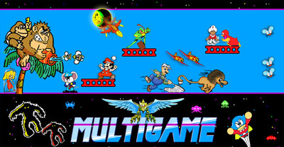 Multigame Control Panel Overlay Galaga sized