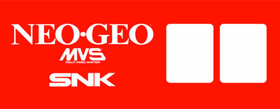 Neo Geo MVS 2 slot Video Arcade Marquee
