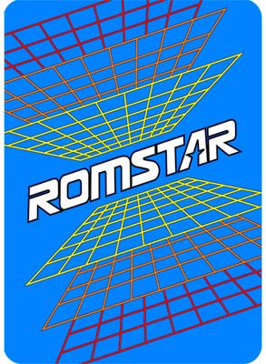 Romstar Video Arcade Side Art