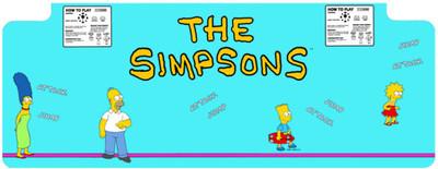 Simpsons Control Panel Overlay