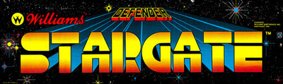 Stargate Video Arcade Marquee